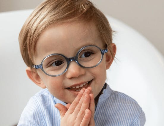 Des lunettes bio pour les enfants