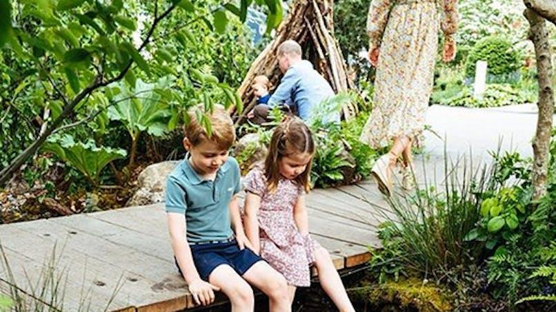 Kate Middleton : les images trop mignonnes de ses enfants dans son jardin (photos et vidéo)