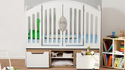 Le Lit'bellule : un lit évolutif pour les enfants, et ergonomique pour les parents
