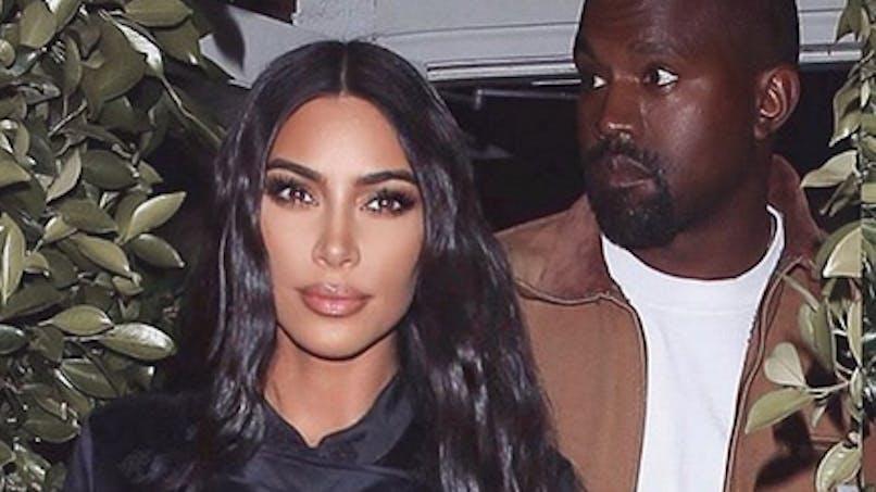 Kim Kardashian dévoile le visage de son bébé pour la première fois (photo)
