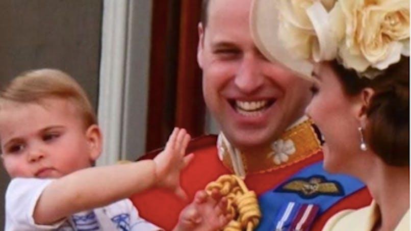 Le prince Louis vole la vedette à Meghan Markle à l'anniversaire de la reine