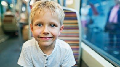enfant et métro