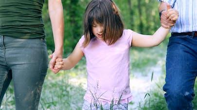 enfant trisomique et ses parents