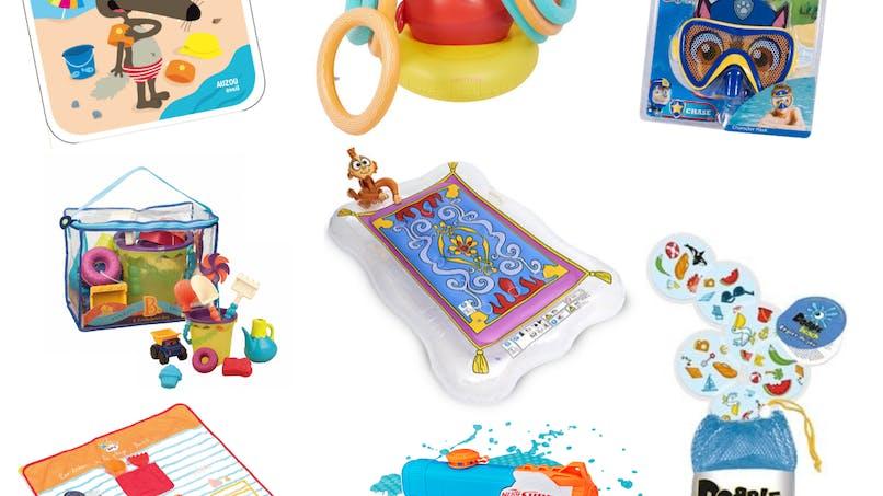 15 jouets à emmener cet été à la plage ou à la piscine !