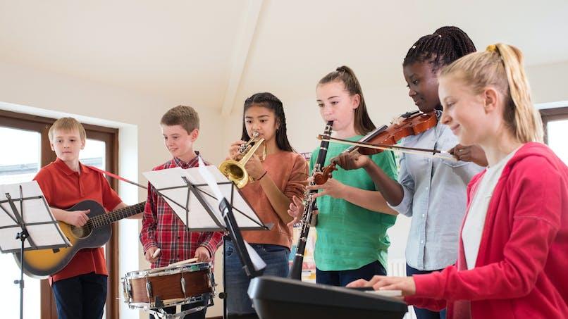 Les étudiants en musique réussissent mieux à l'école