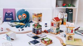 La Fabulabox : un nouveau jeu de construction qui s'inspire du décor des villes