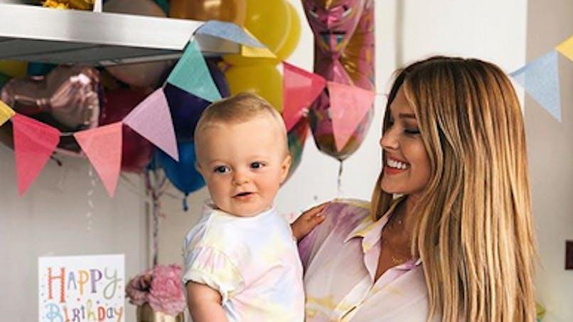 Caroline Receveur fête le 1er anniversaire de son petit Marlon (photos)