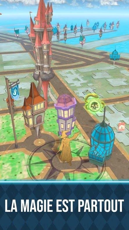 auberge, forteresse et serre Wizards Unite