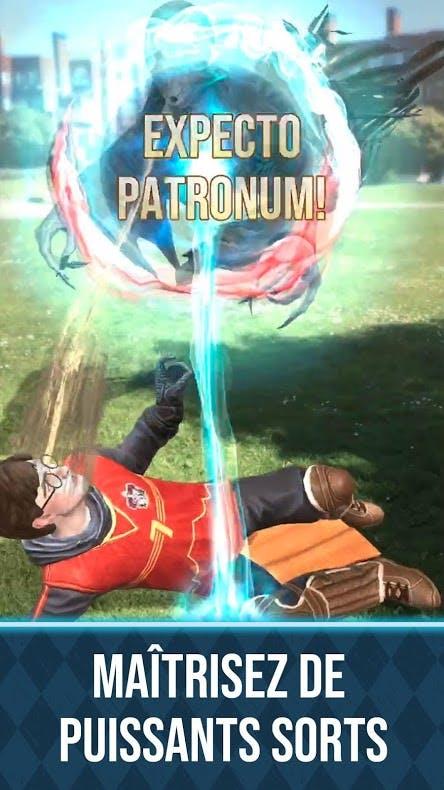 sort magique Harry Potter Wizards Unite