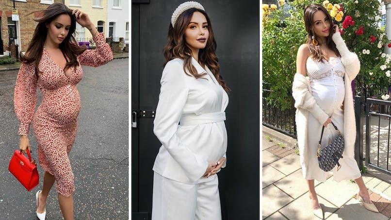 Sexy et enceinte : les plus beaux looks de grossesse de Nabilla (diaporama)