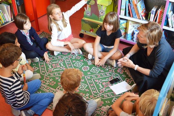 atelier enfants La Carabane
