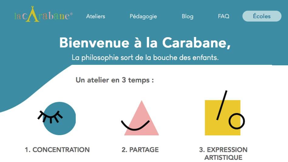 Ateliers philosophie enfants et dessins La Carabane