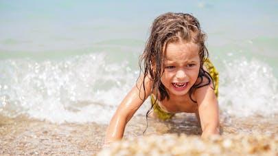 enfant peur de l'eau