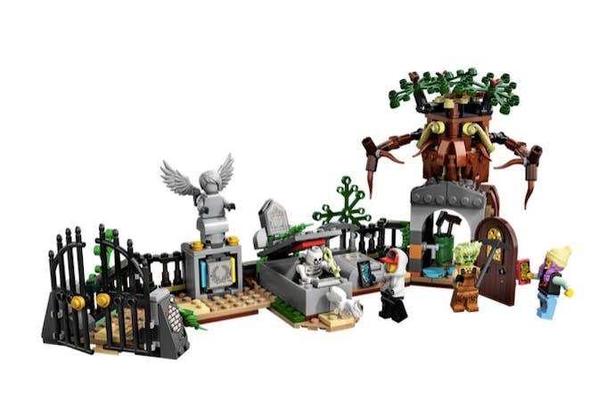 cimetière mystérieux lego hidden side