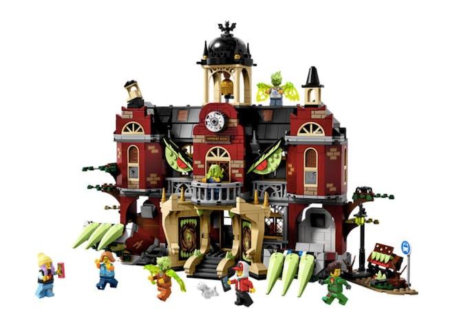 école hantée LEGO HIDDEN SIDE