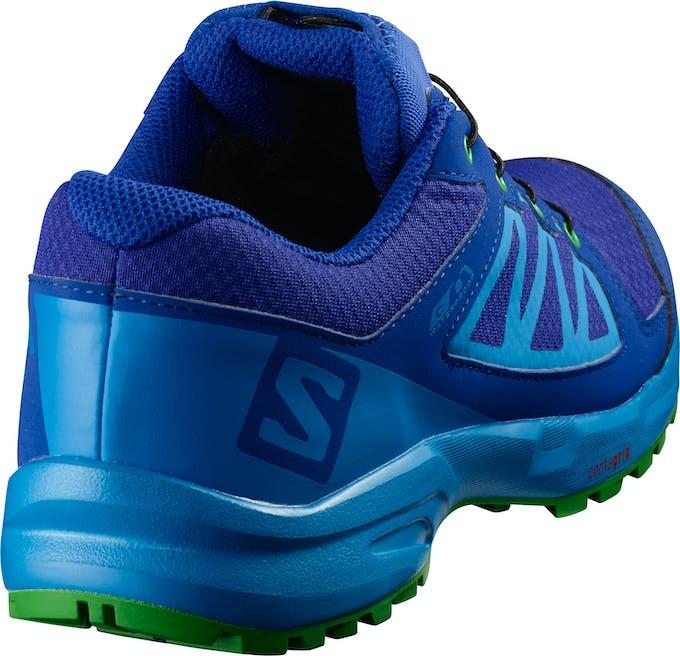 chaussures de sport Salomon enfant bleu