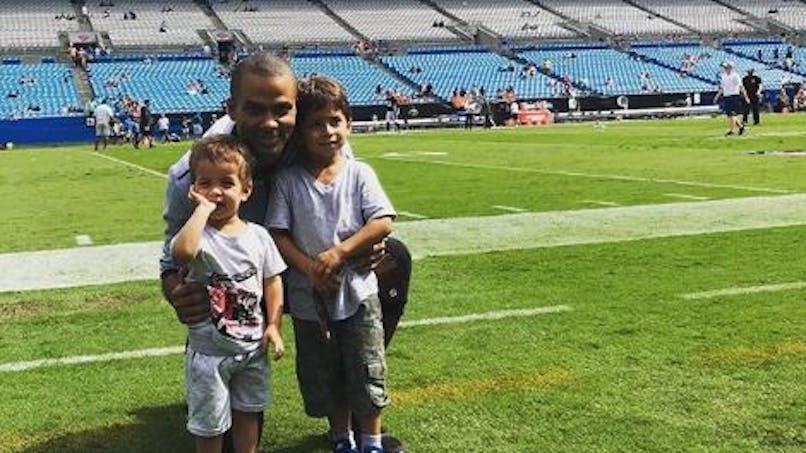 Tony Parker a fêté le 3e anniversaire de son fils Liam (photo)