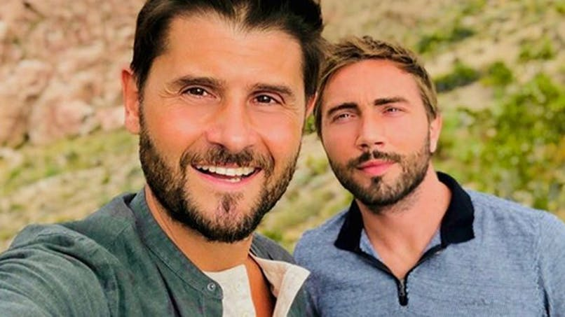 Christophe Beaugrand et son mari bientôt papas par GPA