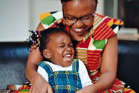 maman kenyane et sa fille