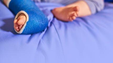 Bébé a une fracture