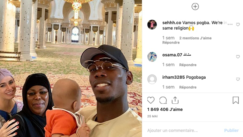 Paul Pogba : sa photo et son message fort avec son fils contre les insultes racistes