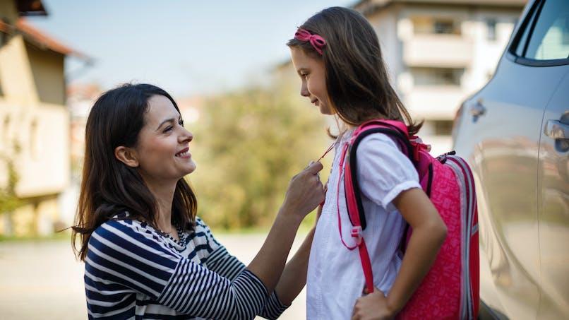Rentrée des classes : la photo avant/après d'une fillette devient virale