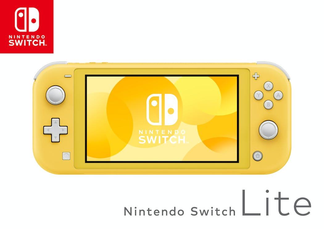Nintendo Switch Lite jaune