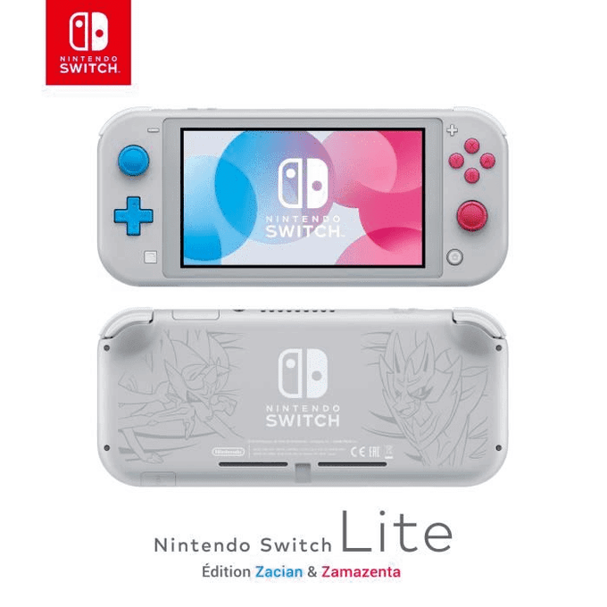 Nintendo Switch Lite Edition Zacian & Zamazenta