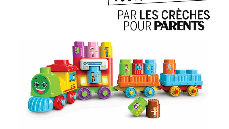 Mon P'tit Train interactif Bla Bla Blocks de VTECH