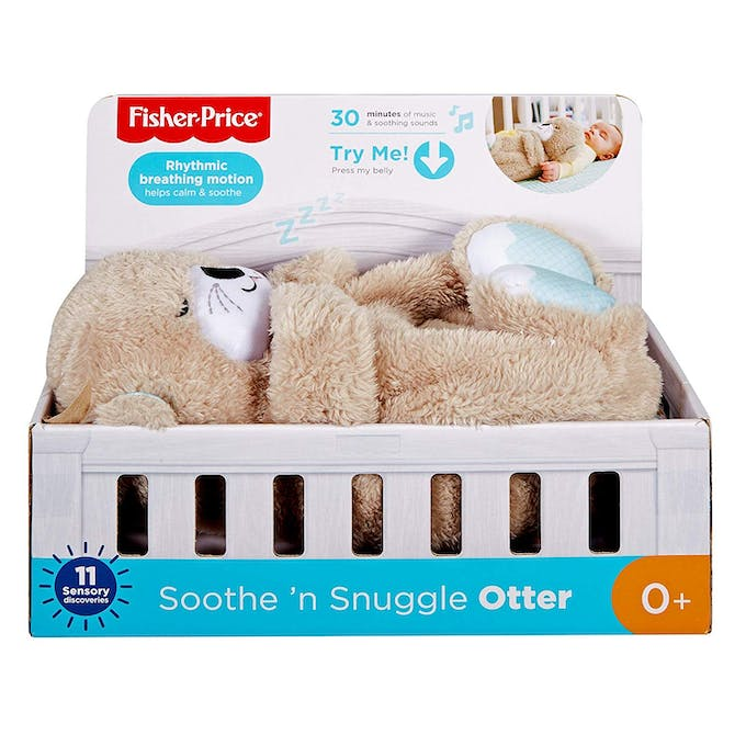 packaging loutre câlins bonne nuit Fisher-Price