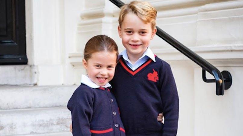 Princesse Charlotte : d'après la Reine, c'est elle qui veille sur son frère !