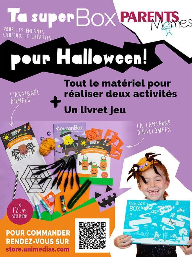 Box Parents Mômes Halloween