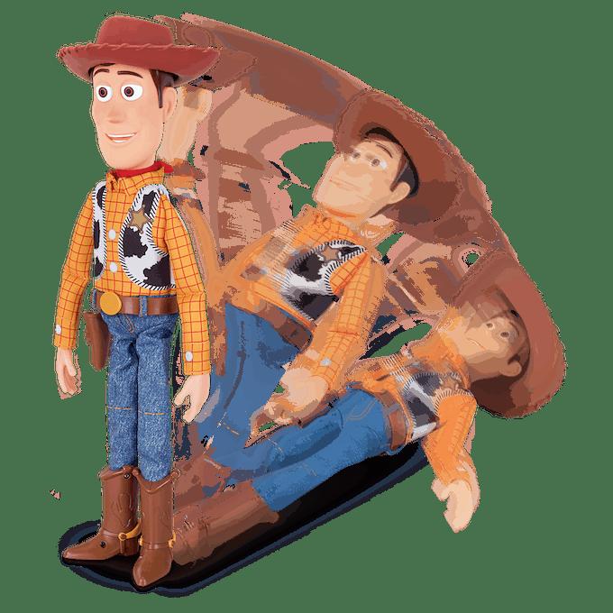 Woody figurine interactive Lansay