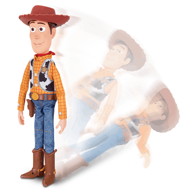 Woody figurine interactive Lansay