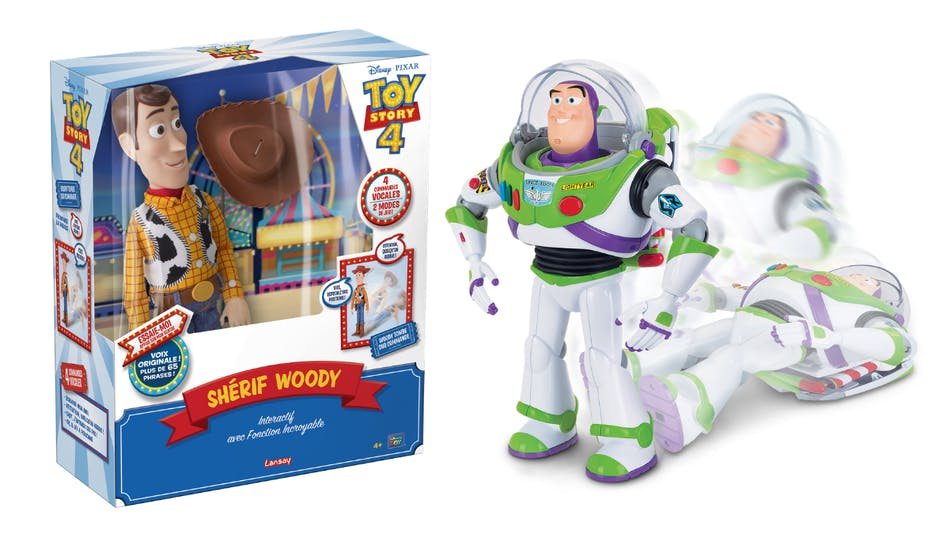 Les incroyables figurines Toy Story Lansay