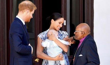 Royal baby : de nouvelles photos d'Archie en Afrique