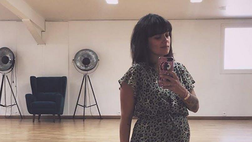 Alizée poste sur Instagram des photos de la chambre de sa future fille