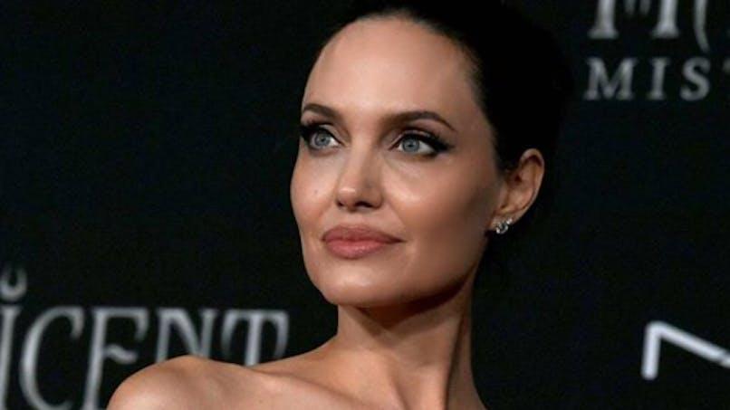Angelina Jolie entourée de ses enfants pour la première de 'Maléfique 2'