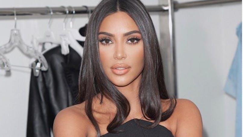 Kim Kardashian à la messe avec ses enfants