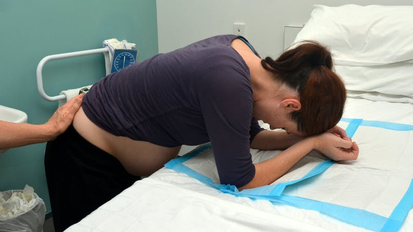 La photo d'accouchement d'une femme qui montre que le corps humain est incroyable
