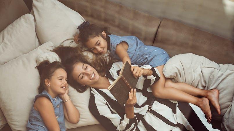 L'astuce imparable (et sournoise) d'une maman pour calmer ses enfants avant de dormir
