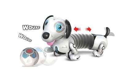 Le robot Dackel, un chien extensible radiocommandé