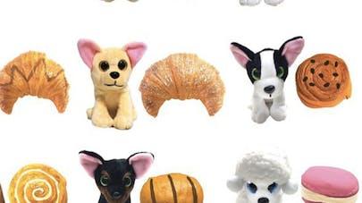 Peluche sweet pups surprise