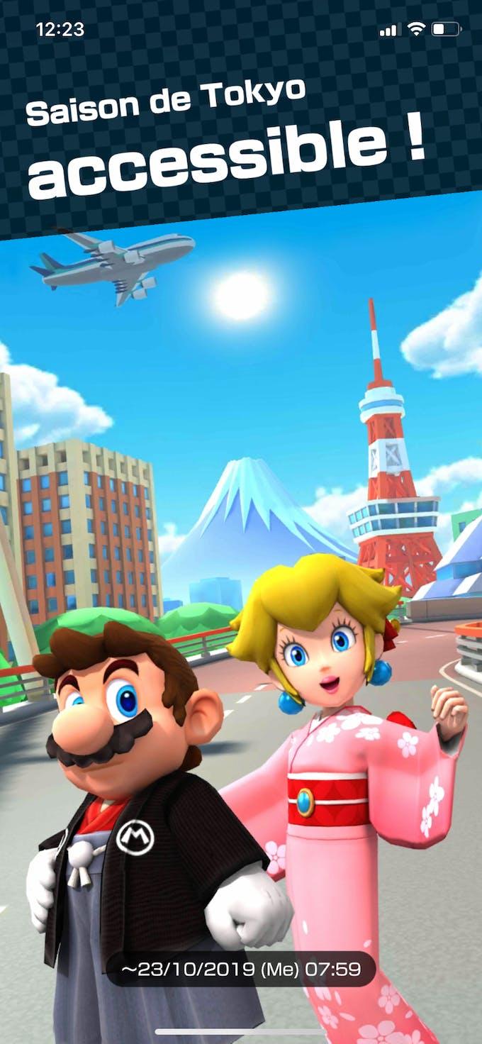 Saison Tokyo Mario Kart Tour