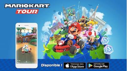 Jeu mobile Mario Kart Tour