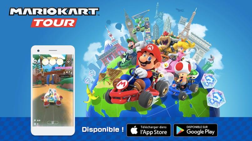 Mario Kart Tour, le célèbre jeu de courses s'invite sur smartphone