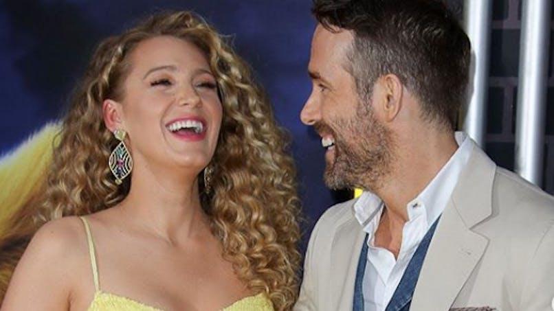 Fille ou garçon : Blake Lively et Ryan Reynolds dévoilent le sexe de leur 3e enfant