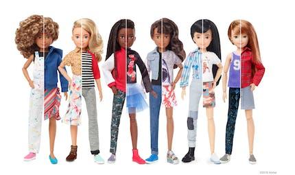 Creatable World, la nouvelle gamme de poupées non genrées de Mattel