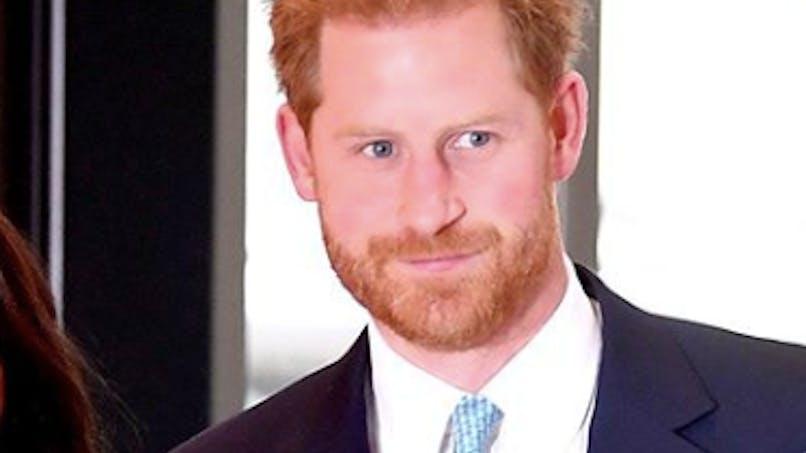 Royal Baby : il fait fondre en larmes le prince Harry, lors d'un discours à Londres