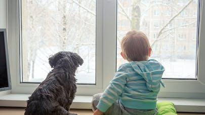enfant et hiver
